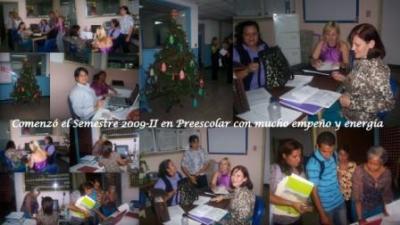 Bienvenida de los Estudiantes de Nuevo Ingreso 2009-II