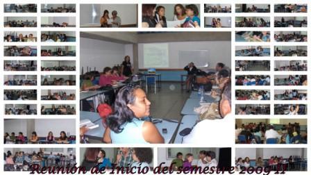 Cronograma de Actividades Intersemestrales 2009-II