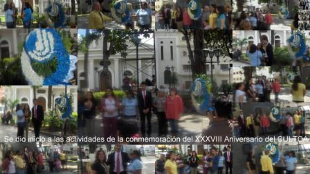 Actividades de conmemoración del XXXVIII Aniversario del CULTCA