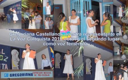 Preescolar en la Voz Cultquista 2010
