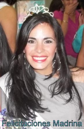Felicitaciones Karen Madrina Del CULTCA 2011