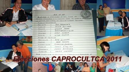 Docencia en Preescolar fue Sede de la Elecciones de CAPROCULTCA