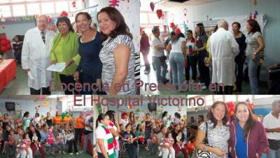 Docencia en Preescolar en El Hospital Victorino Santaella