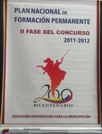 Plan Nacional de Formación 13 de Febrero de 2012