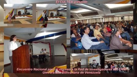Encuentro Nacional para el Ingreso a la Red de Investigación del CNIE