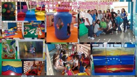 Exposición de Taller de Recursos Para el Aprendizaje julio 2012