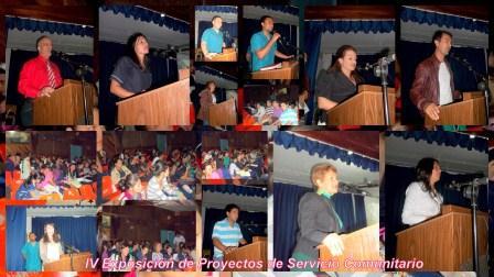 IV Exposición de Proyectos de Servicio Comunitario