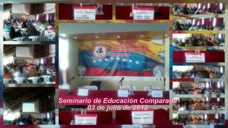 Seminario Internacional de Educación Comparada