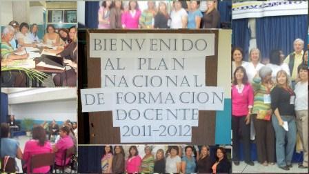 Plan Nacional de Formación Docente