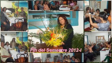 Ágape Fin del Semestre 2012-I